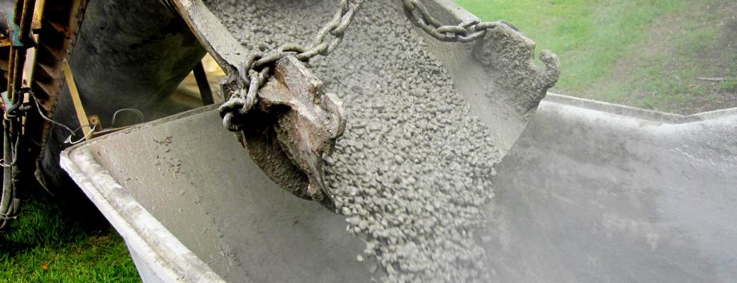 Slider – Cement Pour